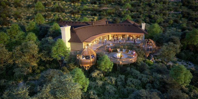 the luxe voyager shamwari game reserve