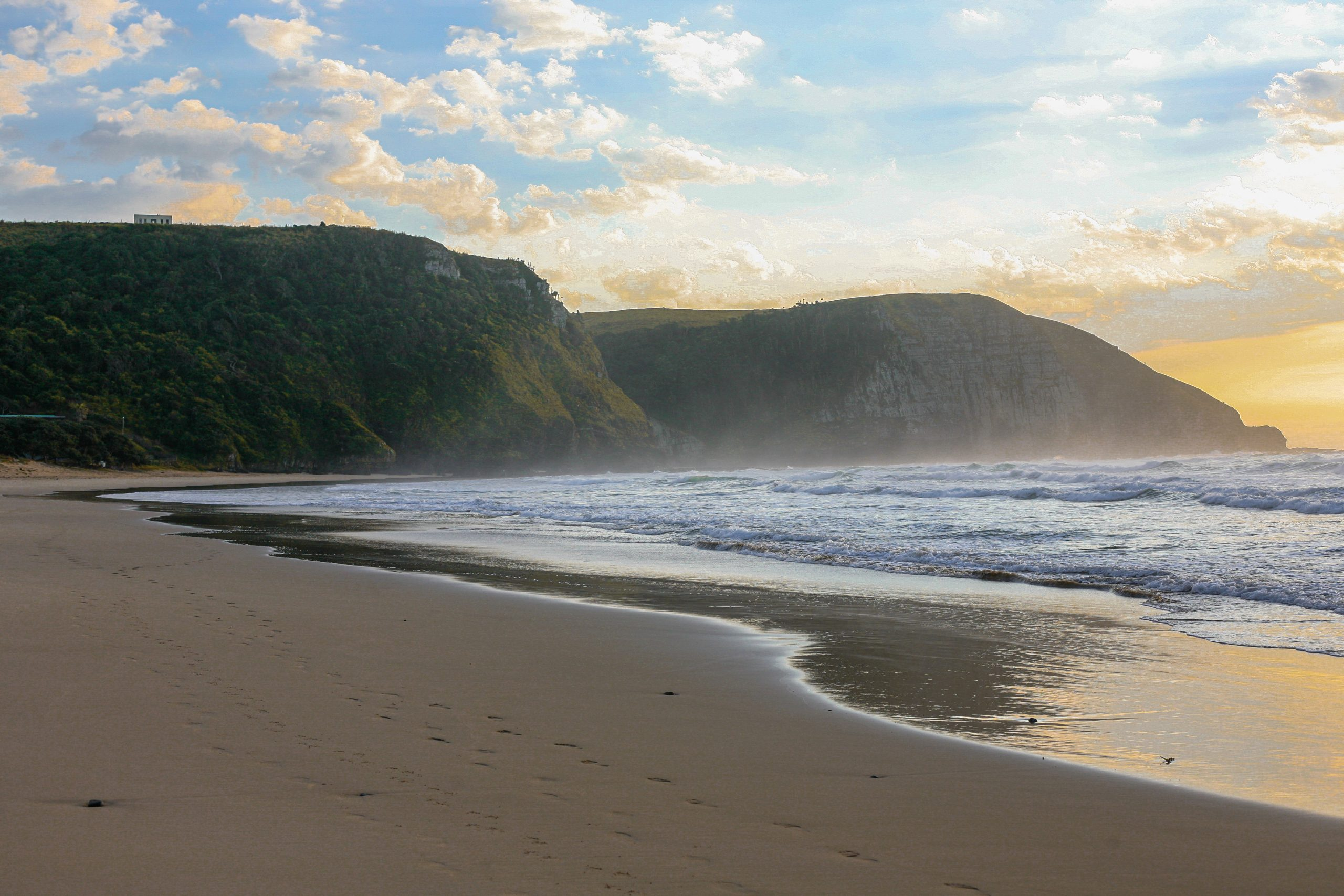 eastern cape beach - visit south africa