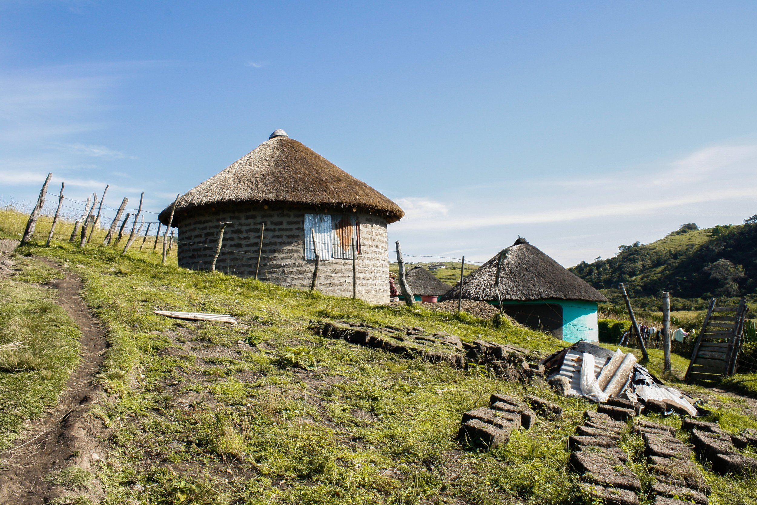 coffee bay xhosa hut - visit south africa
